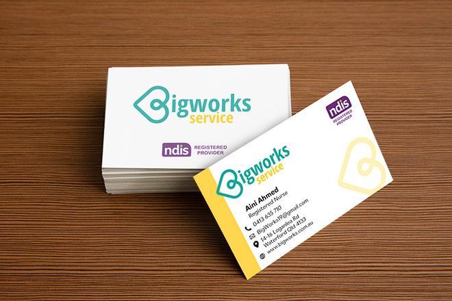 Bigworks Service Business Cards
