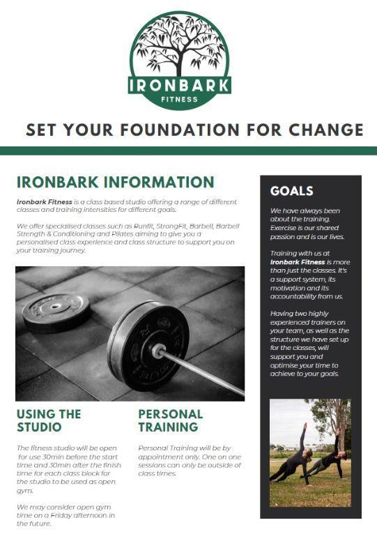 ironbark-fitnessA4 supplied
