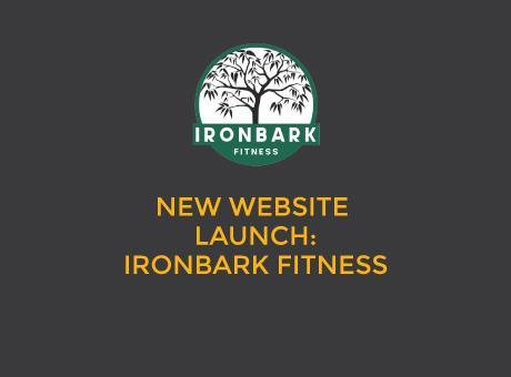 website design - ironbark fitness
